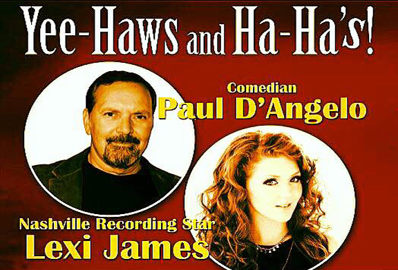 Yee-Haws + Ha-Has! Comedy + Country thumb