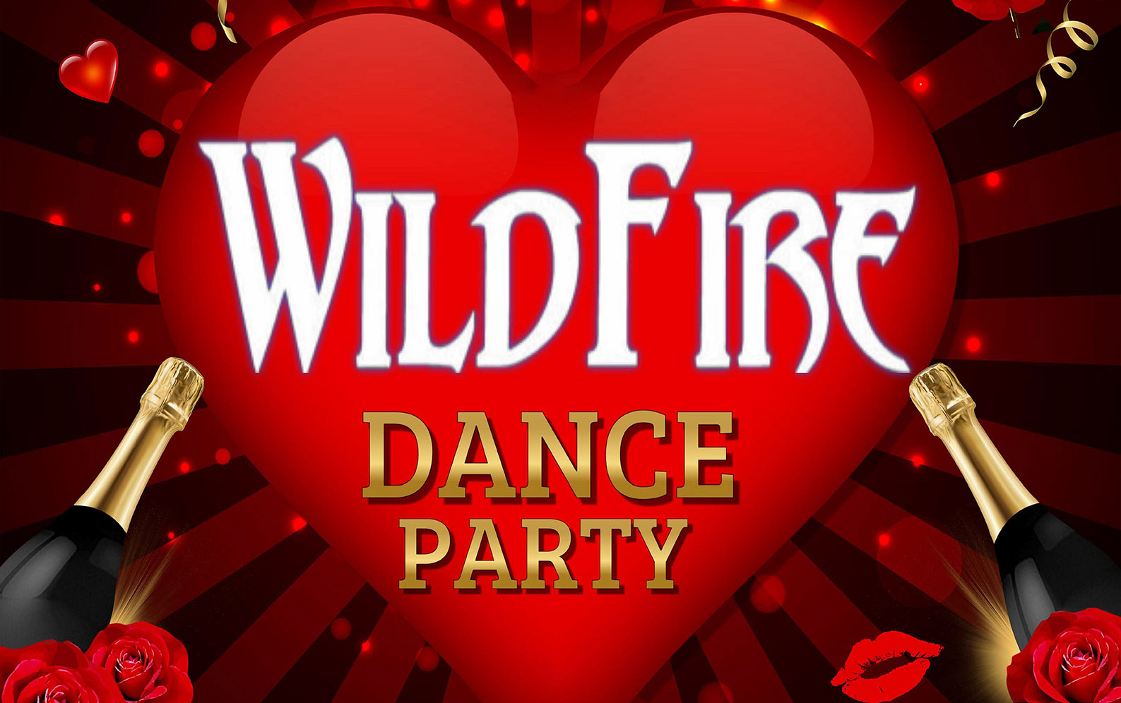 Valentine Dance Party Bash ft. WildFire Band thumb